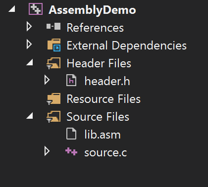 Building IA32 assembly project in Visual Studio 2017